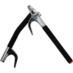 SWFSL STREETWIZE FOLDING STEERING WHEEL LOCK